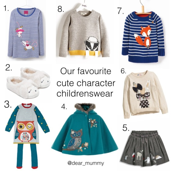 Childrenswear Characters AW15 Fashion
