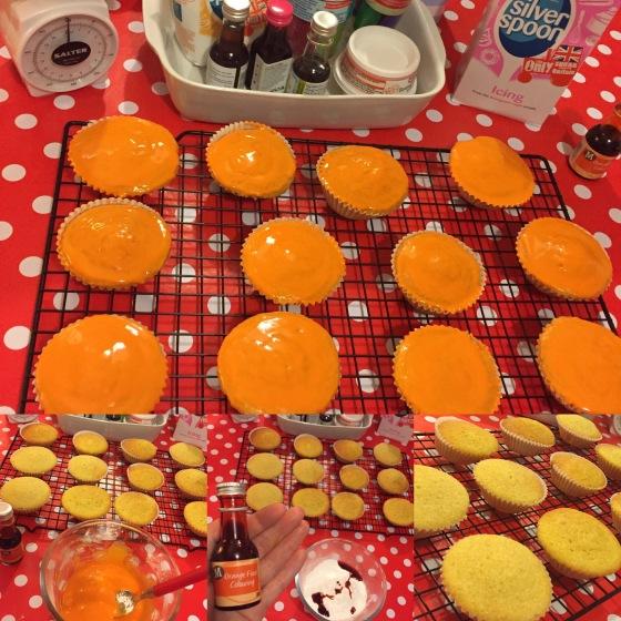 Baking Halloween Cakes