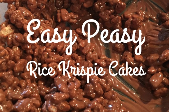 Easy Peasy Rice Krispie Cakes