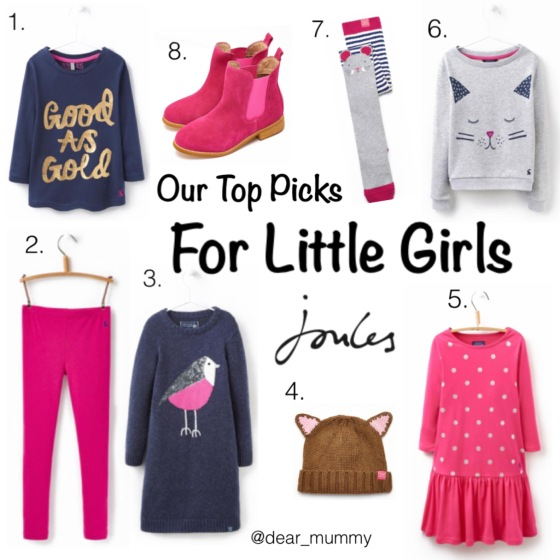 Joules Fashion for Little Girls