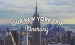 New York Ininerary