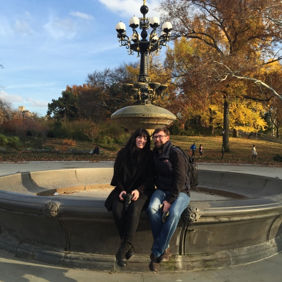Central Park Friends Fountain