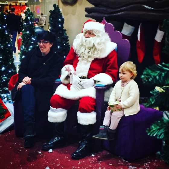 Meeting Father Christmas