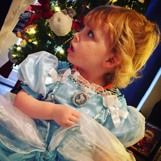 Bella as Disney Cinderella