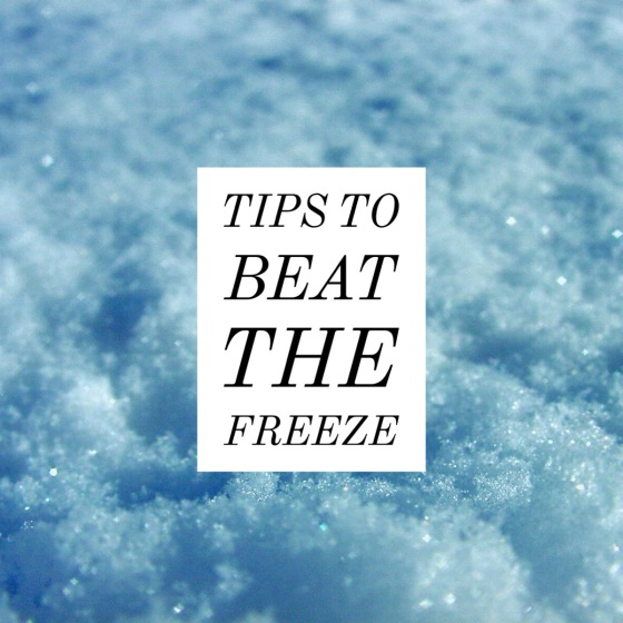 Tips to beat the freeze