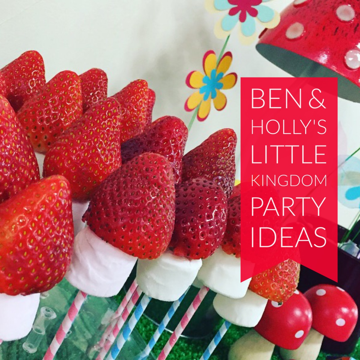 Ben Hollys Little Kingdom Party Ideas Dear Mummy Blog