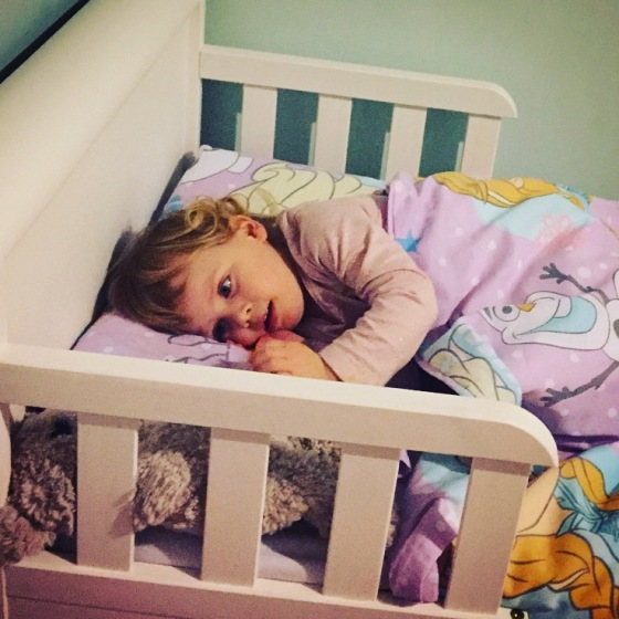 Bella's Big Girl Bed