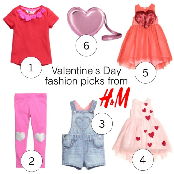 Valentine's Day Fashion Picks from H&M Kids