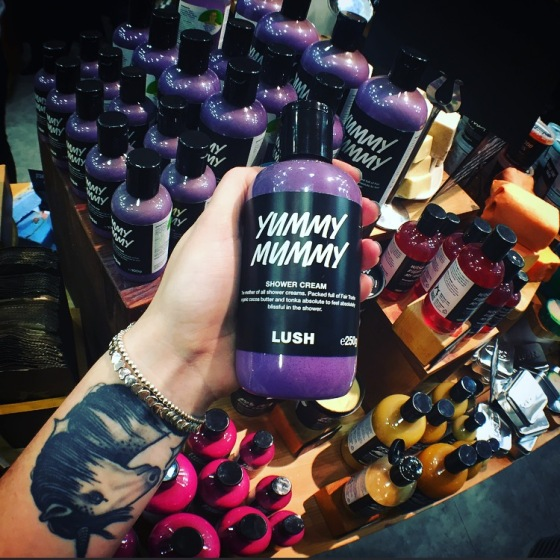 Yummy mummy at LUSH