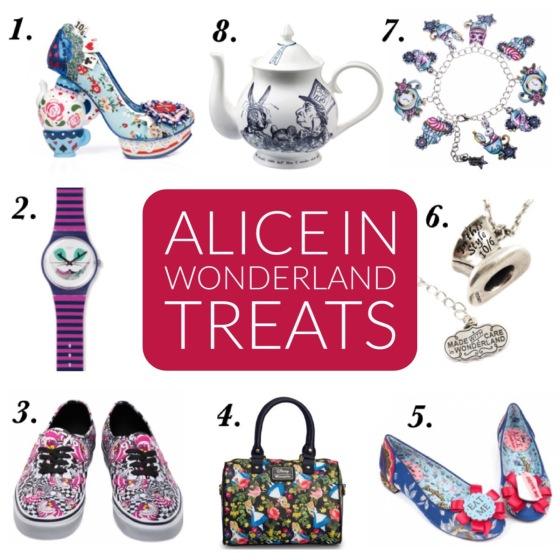Alice in Wonderland treats