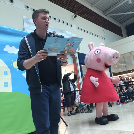 Peppa Pig at Festival Place