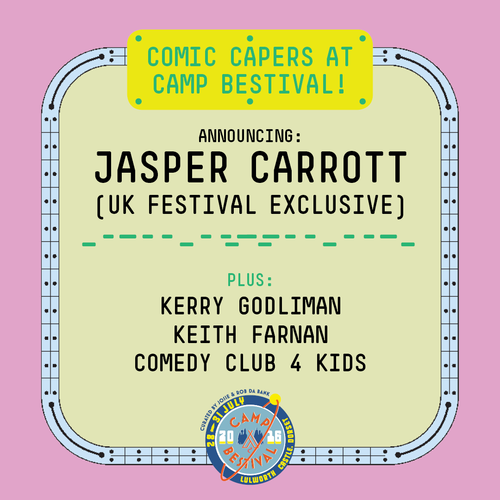 Camp Bestival Comedy 2016