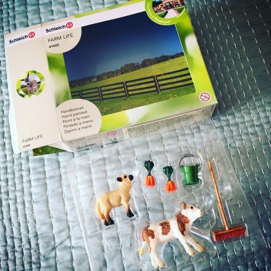 Schleich Farm Yard Animal Review