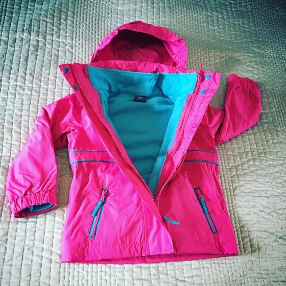 Tresspass Tiara 3 in 1 Jacket