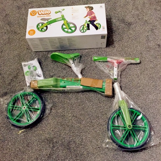 Y Velo Green Balance Bike Review