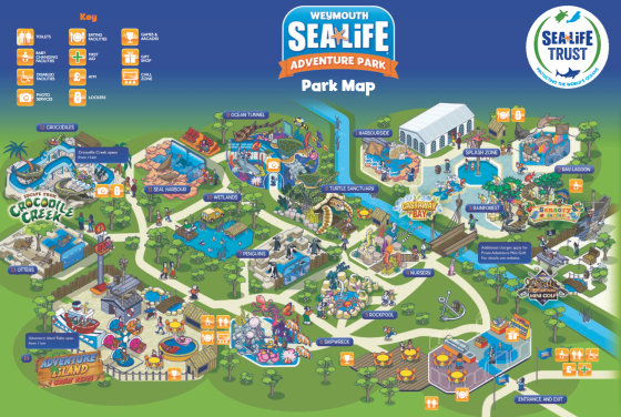 Sealife Centre Weymouth Map