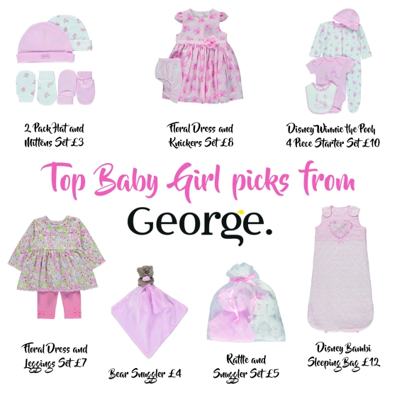 Baby Girl gifts from George at ASDA