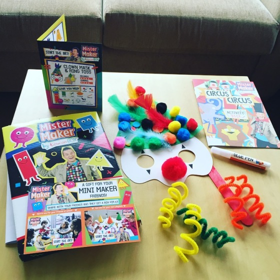 Mister Maker Toucan Box Review