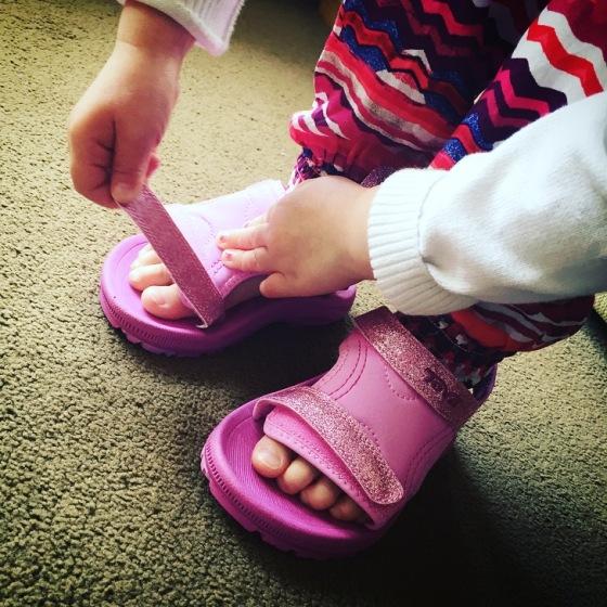 Teva Toddler Girls Psyclone Sandals