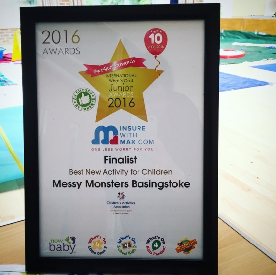 Messy Monsters Basingstoke Review