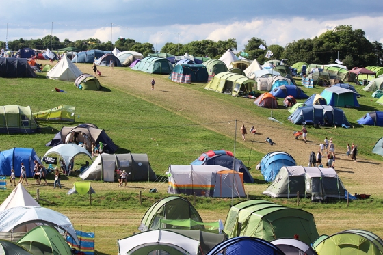 Camp Bestival Hills