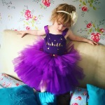 Girl in the purple tutu
