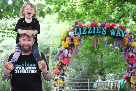 Lizzie's Way at Camp Bestival