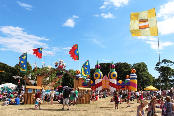 Lower Kids Area at Camp Bestival