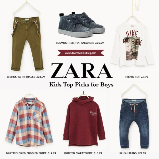 Zara Kids Boys AW/16