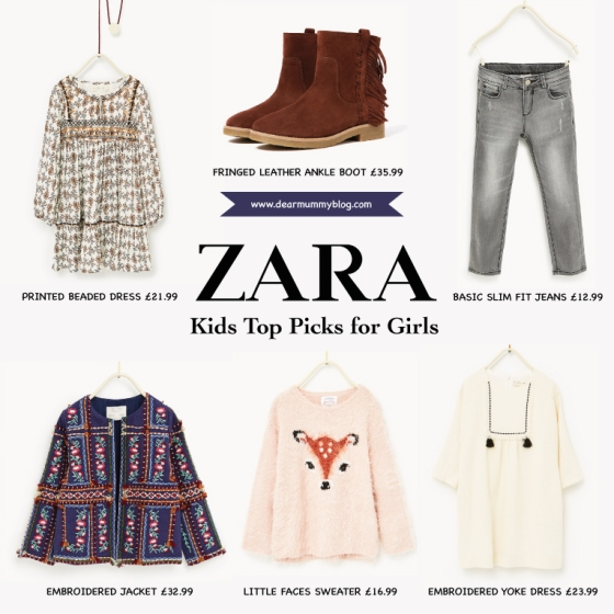 Zara Kids Girls AW/16