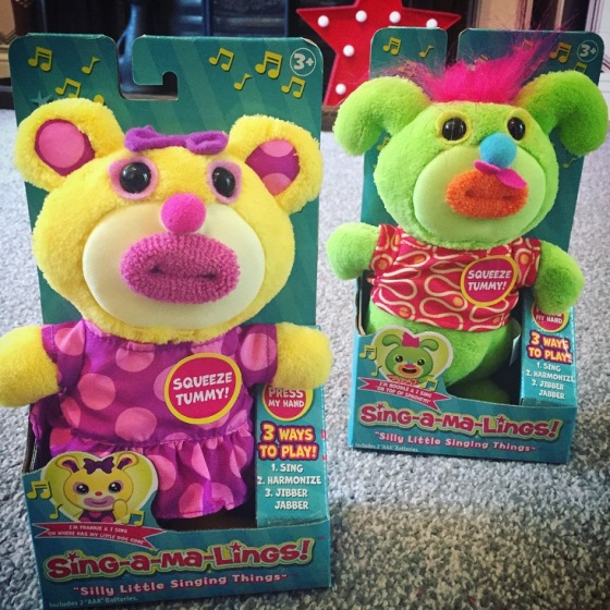 Sing-a-ma-lings toy review