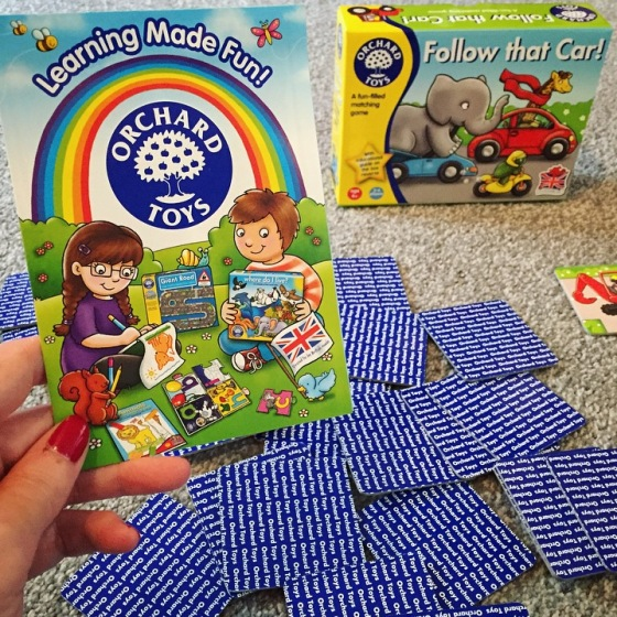 Orchard Toys Follow That Car Game Review
