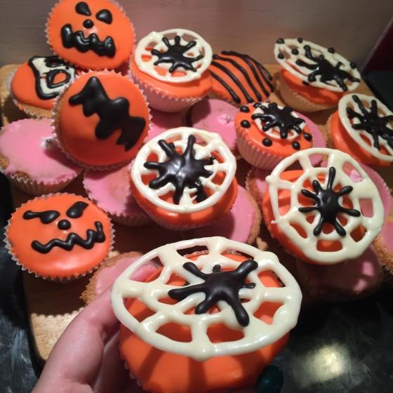 Halloween Fairy Cakes