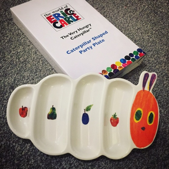 The Very Hungry Caterpillar - Party Plate, Napkins and Garland
