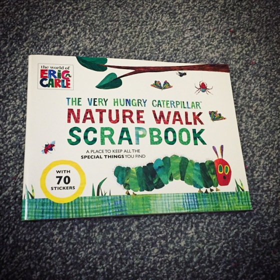 The Very Hungry Caterpillar - Nature Walk Scrapbook