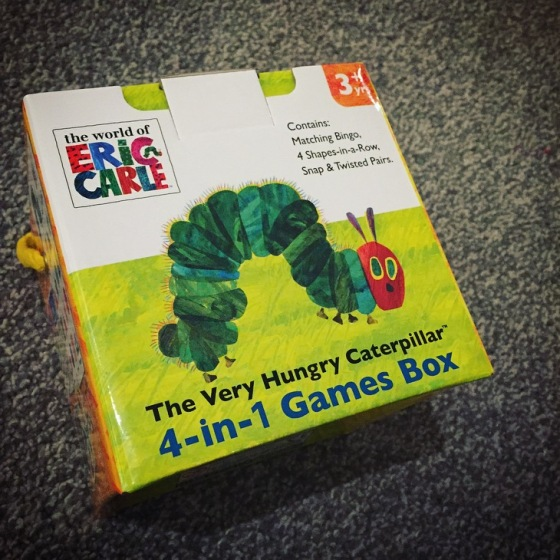 The Very Hungry Caterpillar - 4-in-1 Games Box