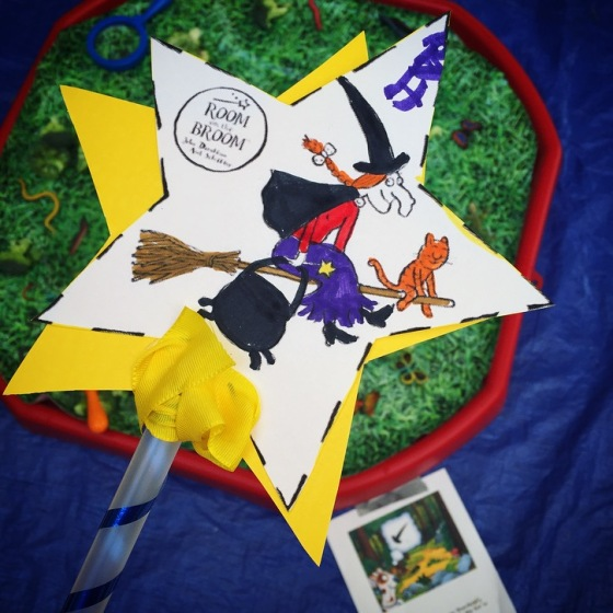 Room on the Broom ideas for kids