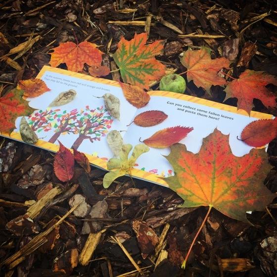 The Nature Walk Scrapbook