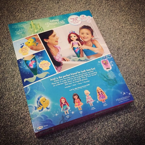 Disney Princess Colors of the Sea Ariel Doll Review