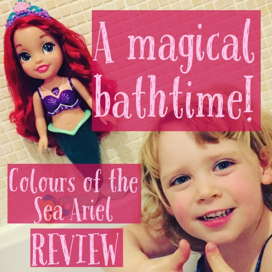 Colours of the Sea Ariel Doll Review