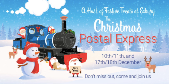 Exbury's Christmas Postal Express