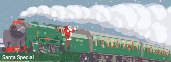 Santa Special Mid Hants Watercress Line