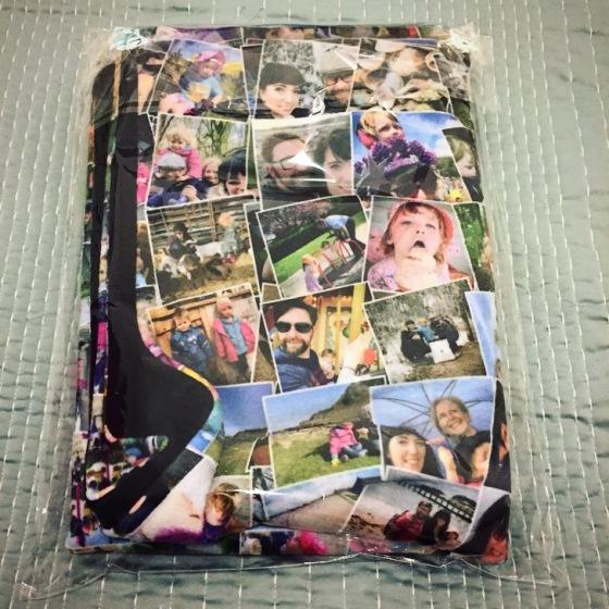 Bags of Love Personalised Photo Blanket