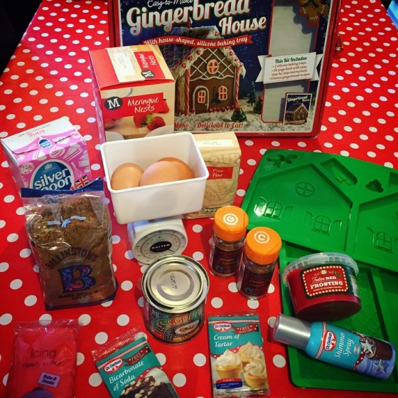 How to make a gingerbread house