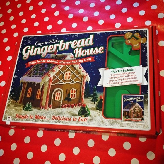 Hinkler Books gingerbread house