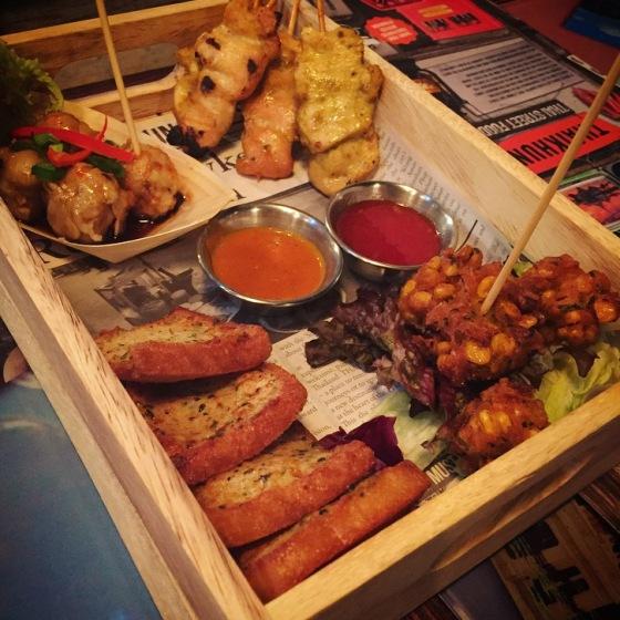 Bangkok Street Platter at Thaikhun, Southampton