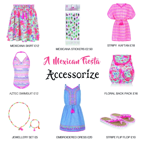 Mexican Picks from Accessorize