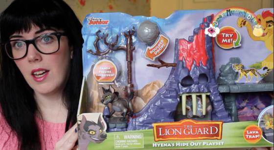 Lion Guard Hyena's Hideout Review