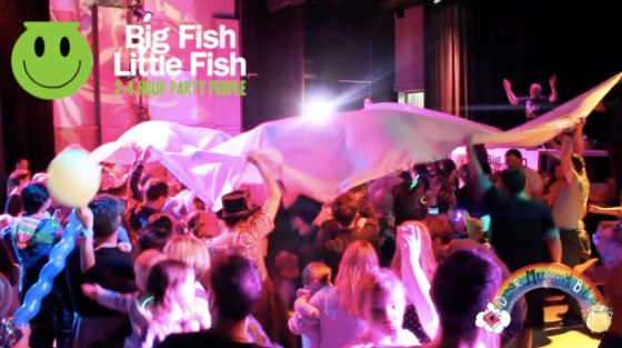 Big Fish Little Fish Family Rave Review