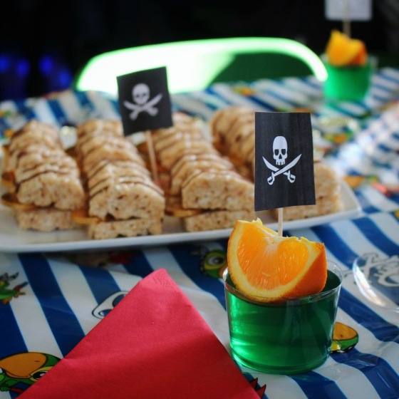 Pirate Ship Jelly